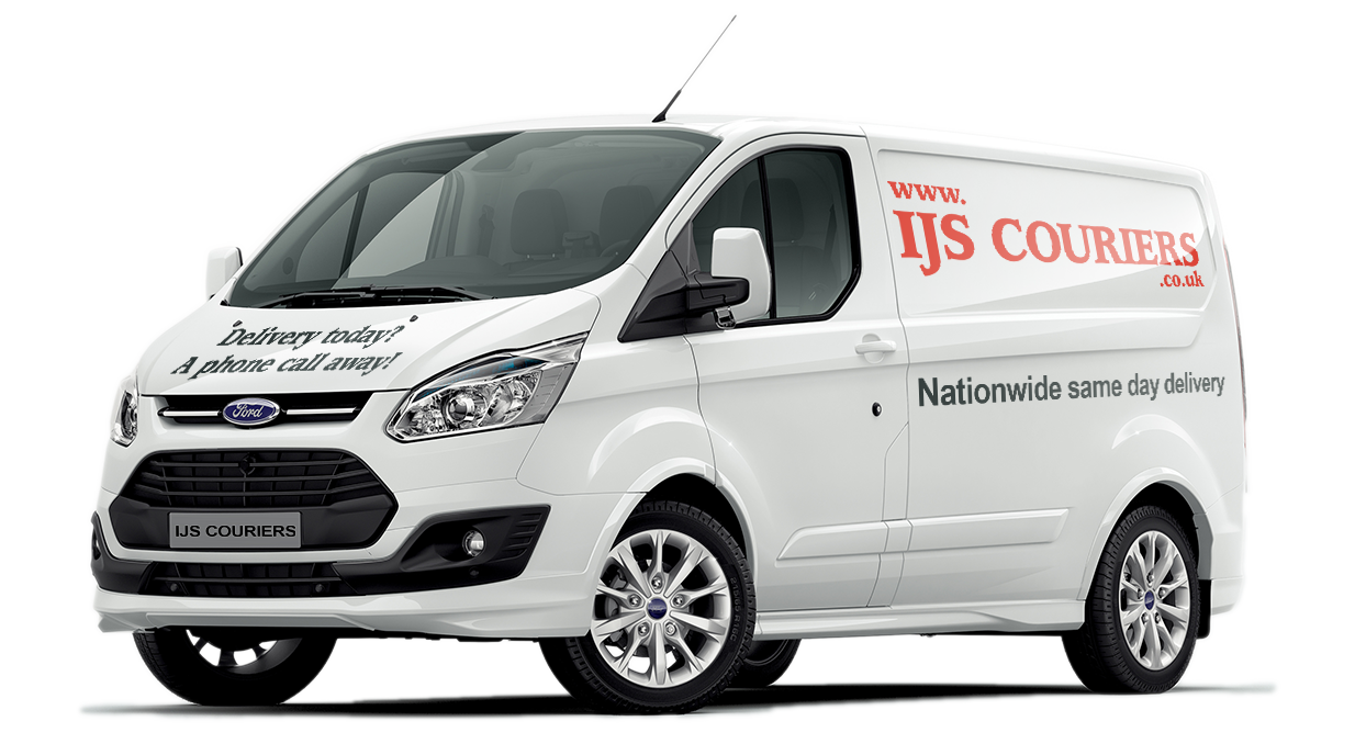IJS Couriers Nationwide Same Day Delivery Van